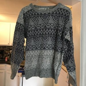 Vintage pattered sweater